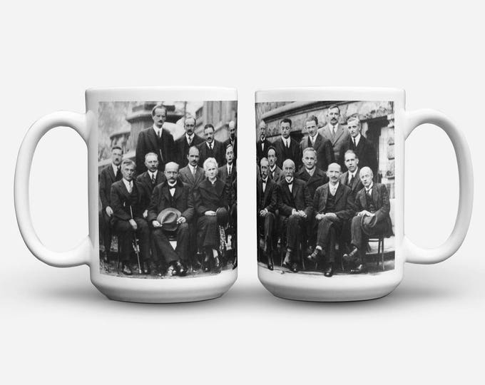 Featured listing image: Fifth Solvay Conference 1927 Mug