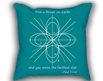 A Differential Geometric Flower pillows