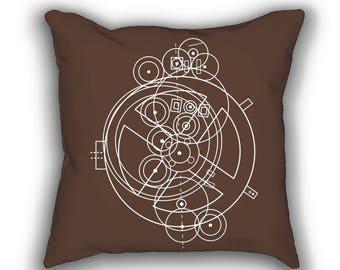 Antikythera Mechanism throw pillows