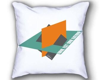 Leibniz and the Flatlands pillows