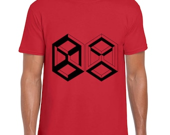 Nth Dimension geometric art t shirt