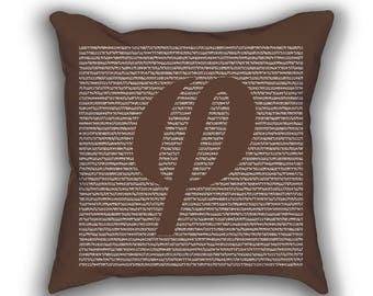 Golden Ratio number numberphile pillows