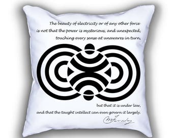 Faraday and Magnetic Fields pillows