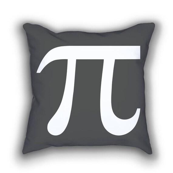 Pi Symbol Mimimal Math Throw Pillows Etsy