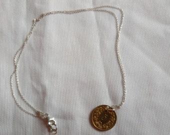 bbc3b26349ea 925 Silberkette mit Schweizer Münze