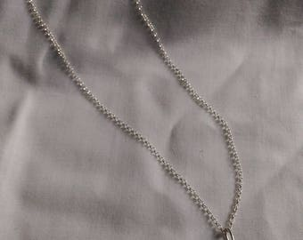 925 silver chain with real sea-shell pendant