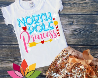 Miss north pole etsy