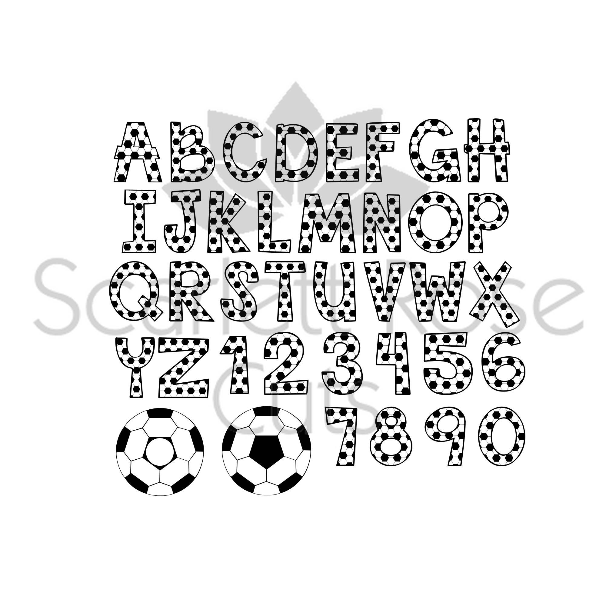 Fußball Font