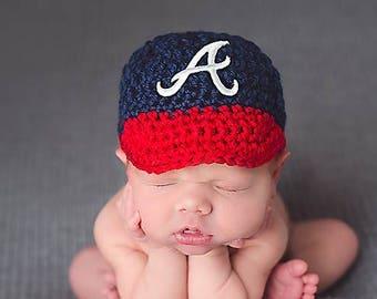 66425946bde Baby Boy- Girl Crochet Baseball Cap- Yankees