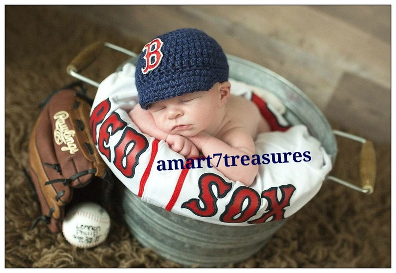 3cf4f518c Baby Boy- Girl Crochet Baseball Cap- Yankees, LA Dodgers, New York Mets -  crochet baby shower gift - newborn baseball -baseball team