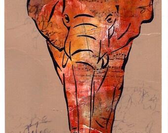 Elephant (red english)