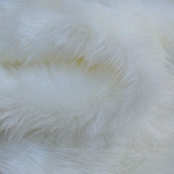 Realistic Faux Fur Arctic fox faux fur Arctic fox  As real fur Faux Fur Arctic fox Faux Fur for  Teddy bears fur