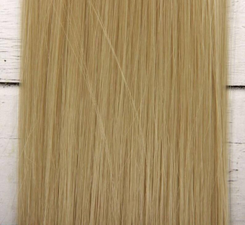 Hair for dolls Hair pieces  Hair for Blythe Hair  Waldorf dolls Doll Wig Hair 25 cm10inches 100cm Similar to natural Thick hair Hair pieces