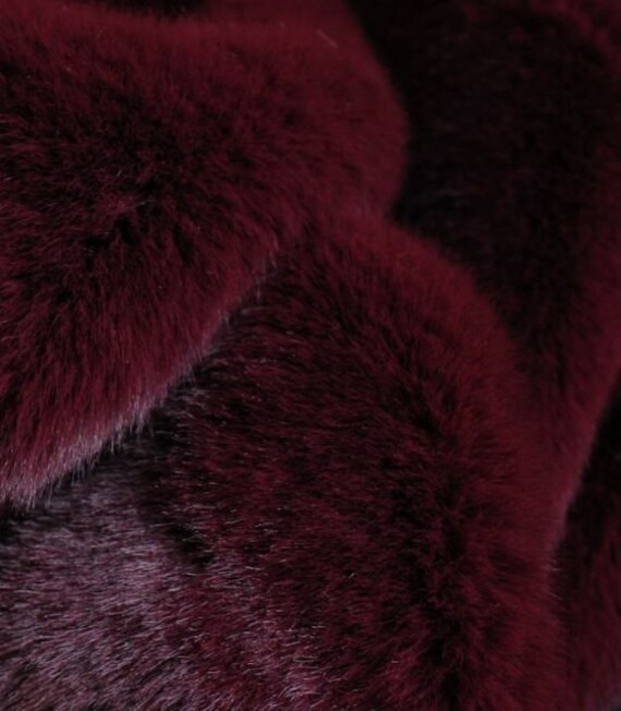 Luxury Tissavel Faux Fur Fabric Yellow Pink Green Blush PER METRE