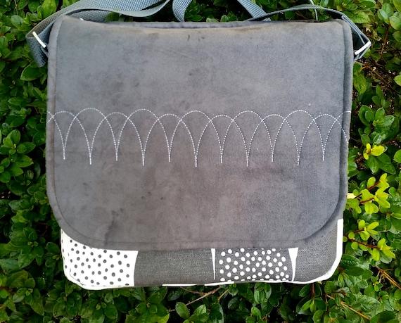 Kauniste Messenger Bag - Messenger Bag - Business Bag - Shoulder Bag - Crossbody Bag - Gift for Her