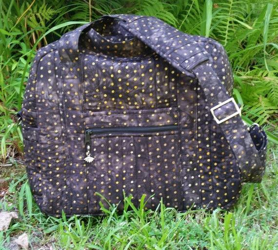 Kelly Karry-On Travel Bag - Carry-On Bag - Overnight Duffle Bag - Travel Dag - Faabric Bag - Colorful Batiks - Ladies Gift