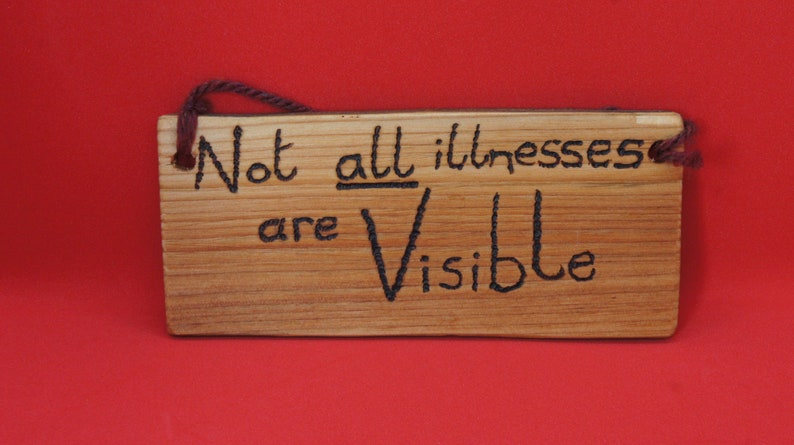 Not all illness are visible sign  small image 0