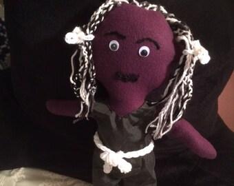 Doll  Black Cultural  Gift  Toy Ragdoll  Birthday  Unique  Handmade Crafts  USA