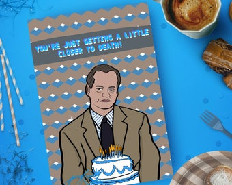 Frasier - Birthday Card - Pop Culture Card,