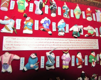 108 Liangshan Outlaws display
