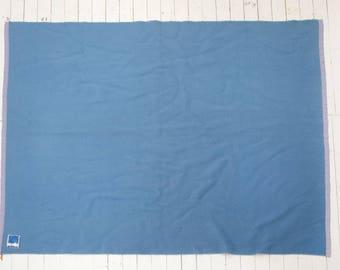 Wool blanket-Double blue blanket