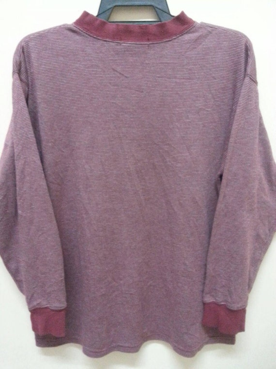 Vintage shirt 90 Yves small shirt s sleeve long Saint Laurent vintage stripe rr64wq
