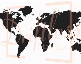 World map stencil etsy world map stencil stencil of world map map stencil world map wall pattern world map travel stencil world stencil stencil of world gumiabroncs Images