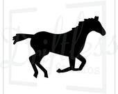 Items Similar To Horse Stencil 1 Equestrian Stencil Running Horse