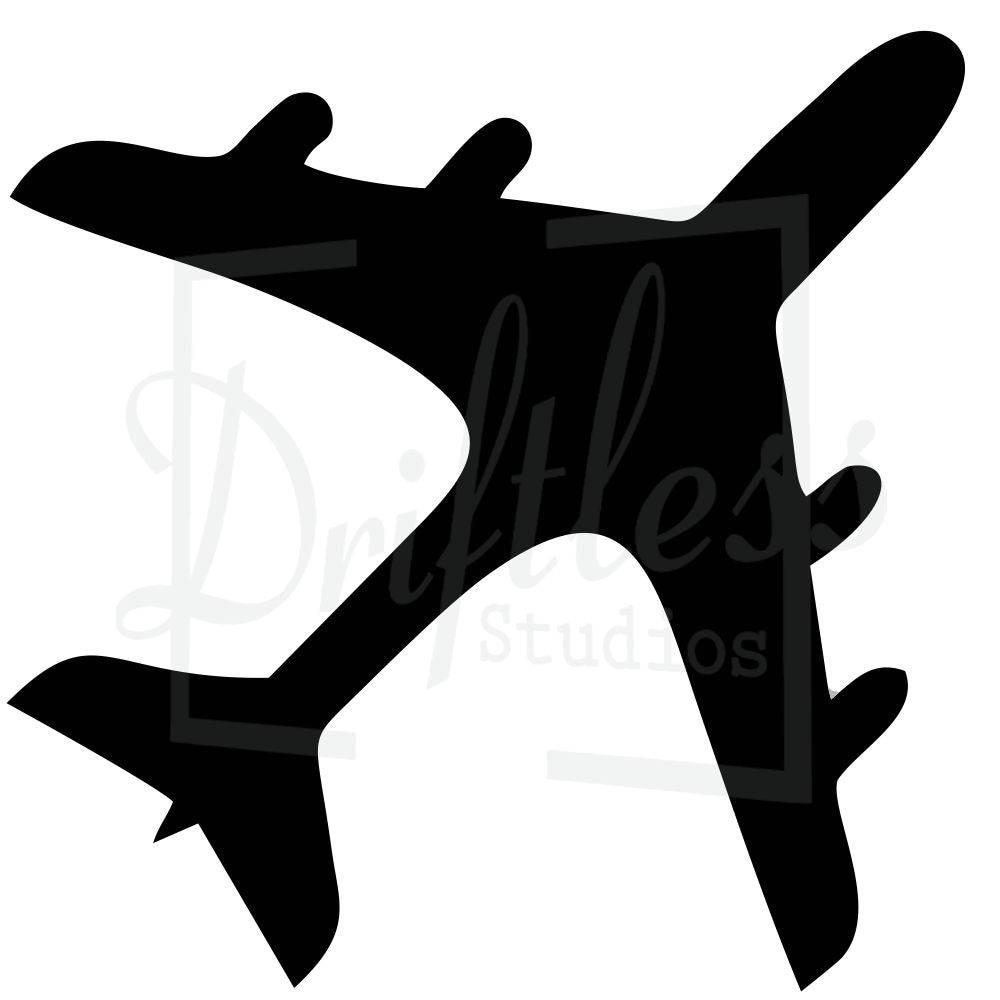 airplane stencil plane stencil airplane template kids room etsy