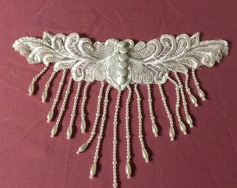 Beaded Vintage Wedding Collar