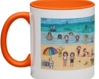 Student Seaside Vacation Coffee Mug