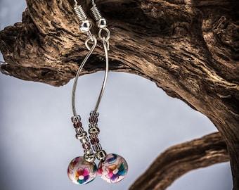 Jasmine Spiral Earrings