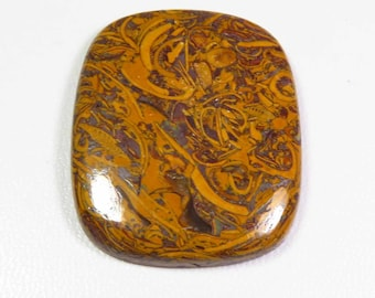 Natural Mariam Jasper Rectangle Cabochons For Jewelry Making,31X25mm,45.90cts...@1974