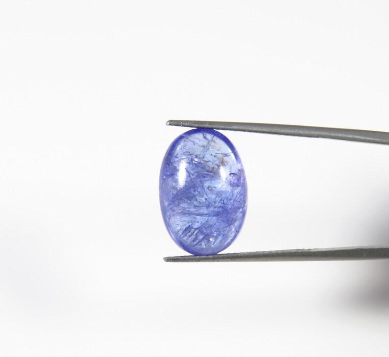 16x11 mm Oval Blue Tanzanite loose gems jewelry use KB-773 Tanzanite cabochon Tanzanite cabochon 10 Cts Natural Tanzanite Beautiful!