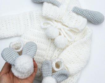 Crochet Baby Set Etsy