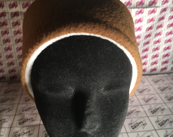 Bustawrapps are head wraps that cover the ears and forehead during those cold and windy winter months. Large-Xlarge, Bowl Shape.