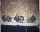 LUCKY DIP ****!!!!!! Handmade sterling silver hammered round stud earrings 7mm