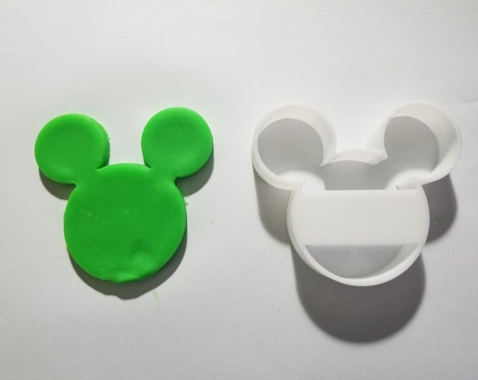 Mickey Mouse Cookie and Fondant Cutter - Multiple Sizes Available