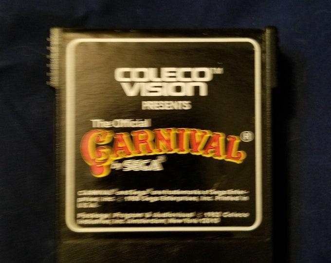 ColecoVision Carnival Game Cartridge Retro Video Game