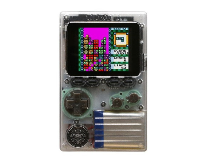 Odroid-Go Handheld Retro Gaming System Loaded w/ 3520 Games - NES | GameBoy | GameBoy Color | Game Gear | Sega Master System | Colecovision