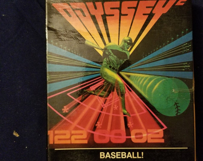 Magnavox Odyssey 2 Baseball! in Retail Box with Manual and Cartridge
