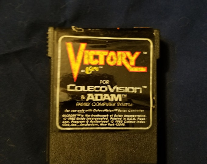 ColecoVision and Adam Victory Game Cartridge Retro Video Game