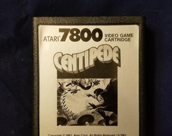 Atari 7800 Centipede Game Cartridge Retro Video Game