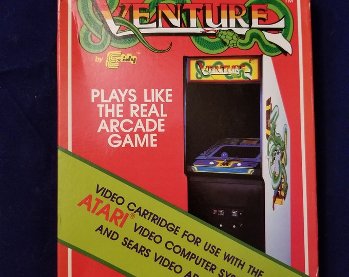 RARE Atari 2600 Venture Unused and Sealed Game Cartridge Retro Video Game