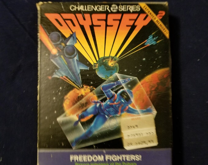 Magnavox Odyssey 2 Freedom Fighters! in Retail Box with Manual and Cartridge