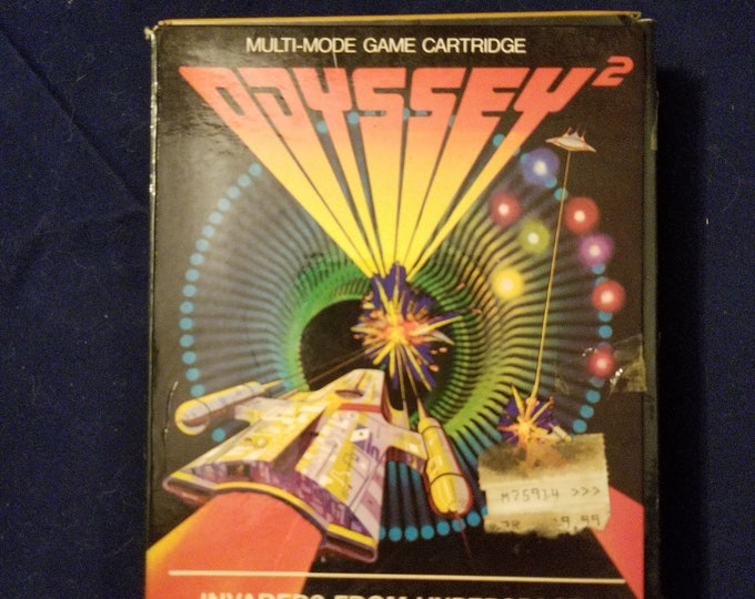 Magnavox Odyssey 2 Invaders From Hyperspace! in Retail Box with Manual and Cartridge