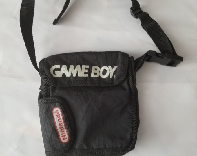 Original Nintendo Gameboy Pouch With Strap