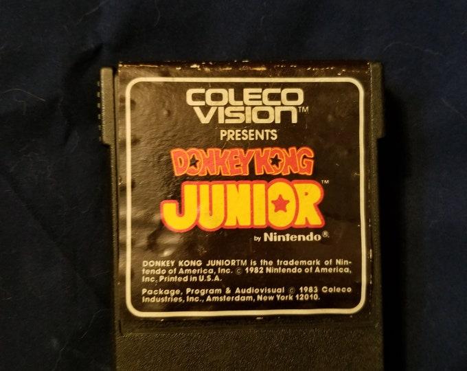 ColecoVision Donkey Kong Junior Game Cartridge Retro Video Game