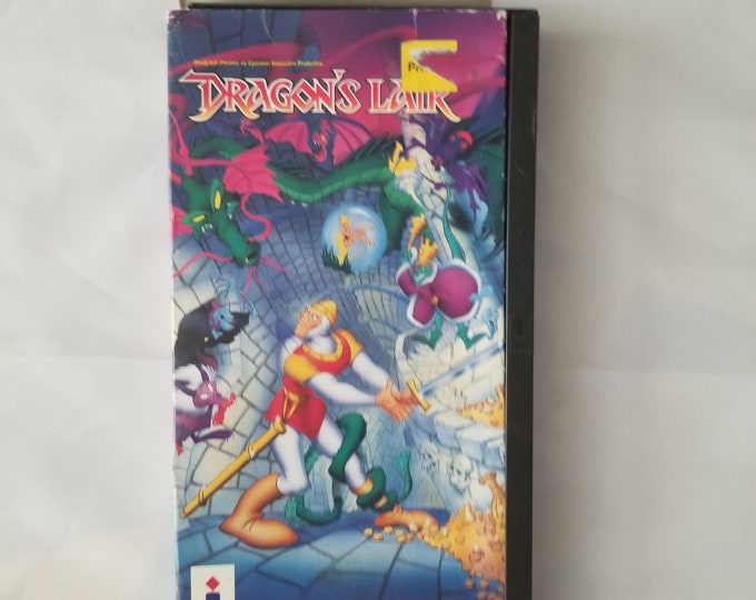 Dragon's Lair for Panasonic 3DO With Case - No Instruction Manual
