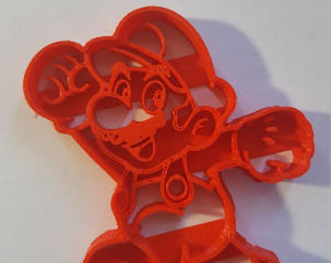 Super Mario Brothers - Mario Cookie Cutter - High Quality 3D Printed